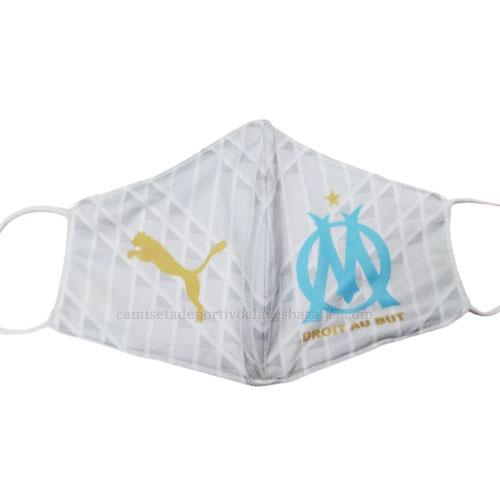 máscaras faciales marseille blanco 2020-21